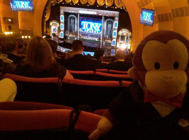 Seating view for Radio City Music Hall Section 2nd Mezzanine 2 Row J Seat 201