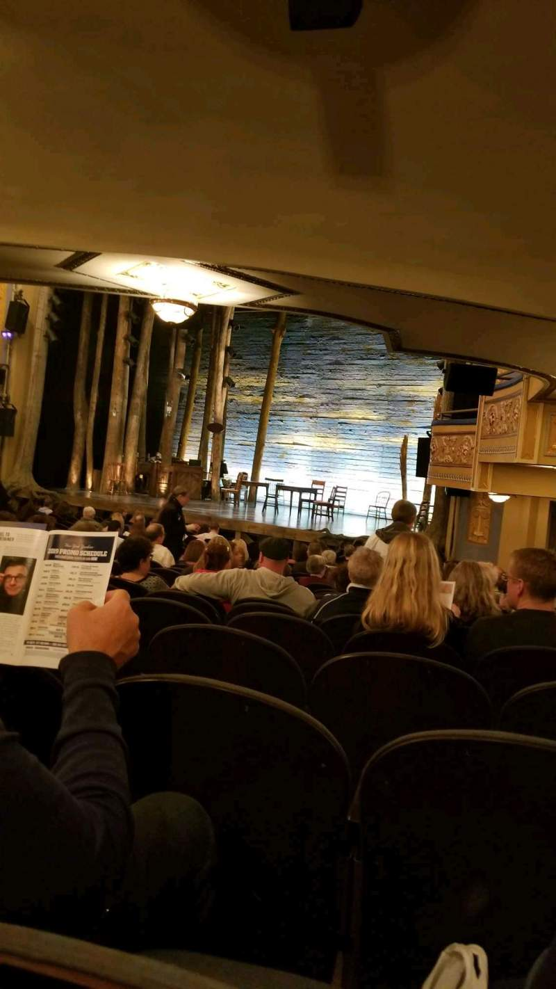 Seating view for Gerald Schoenfeld Theatre Section orchestra r Row R Seat 26