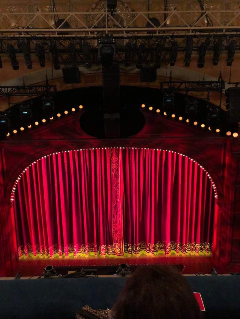 Shubert Theatre, section: Balcony center, row: B, seat: 107