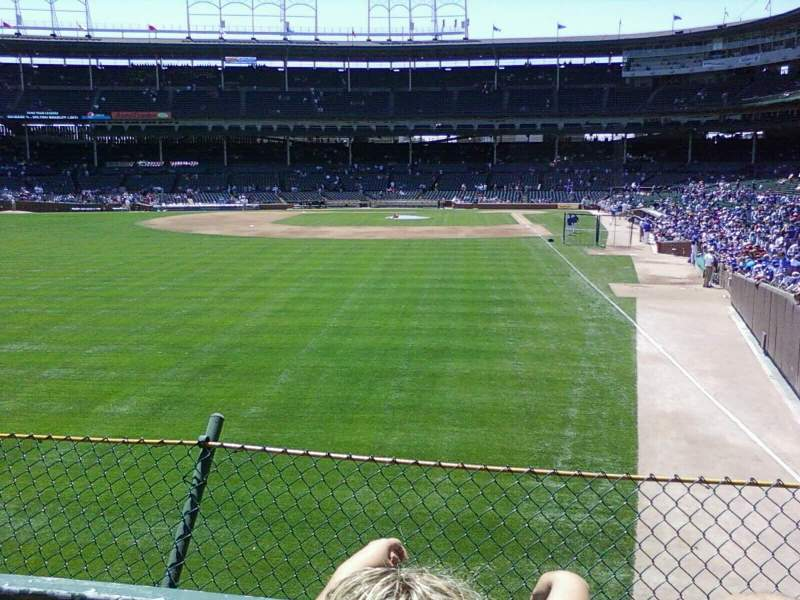 Seating view for Wrigley Field Section GA