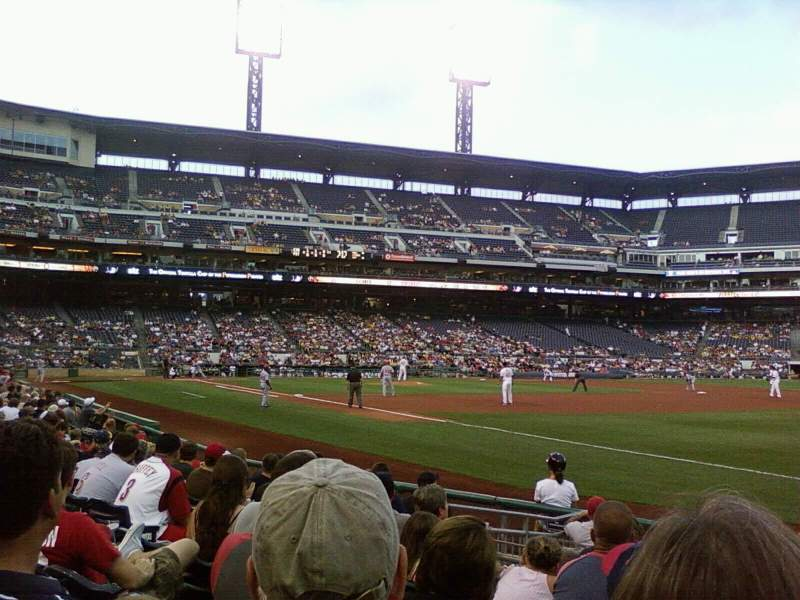 Seating view for PNC Park Section 125