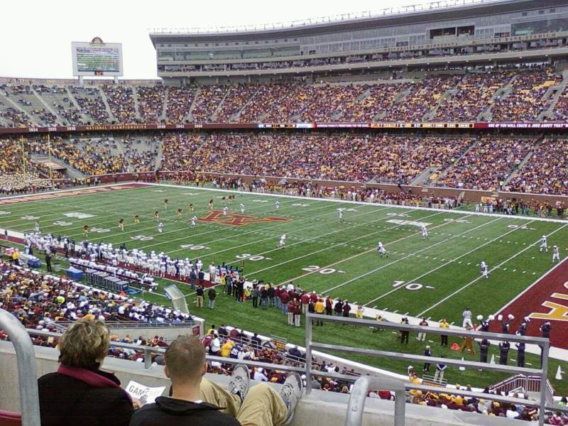 Seating view for TCF Bank Stadium Section 204
