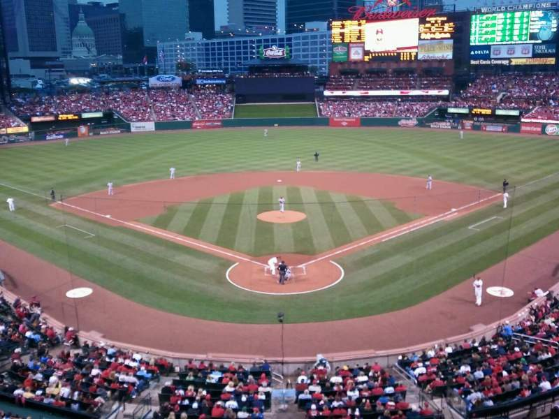 Seating view for Busch Stadium Section 250 Row 1 Seat 11