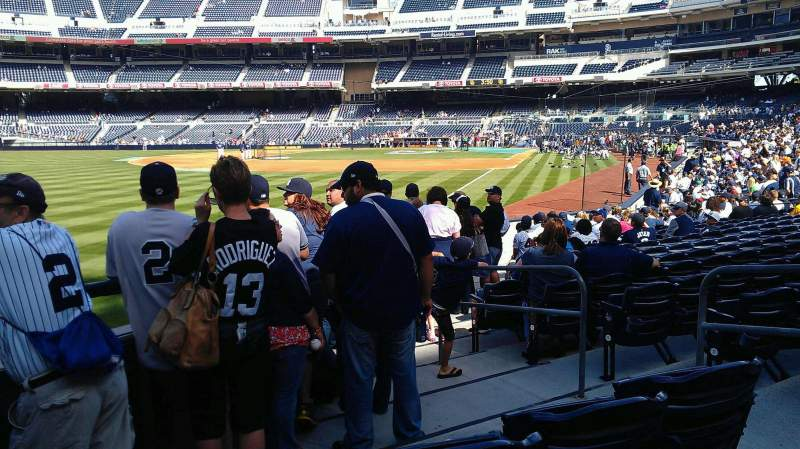 Seating view for PETCO Park Section FR124 Row 18 Seat 6