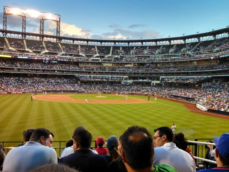 Seating view for Citi Field Section 136 Row 7 Seat 4
