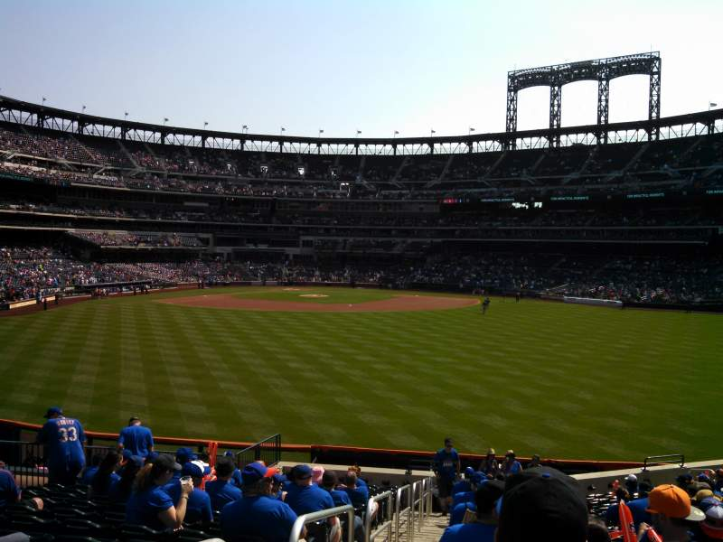 Seating view for Citi Field Section 141 Row 20 Seat 1