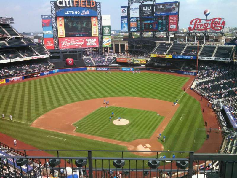 Seating view for Citi Field Section 517 Row 4 Seat 2