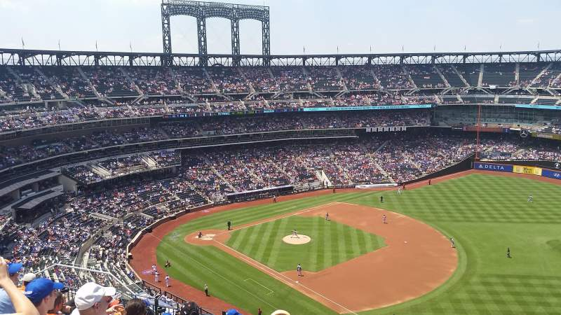 Seating view for Citi Field Section 503 Row 9 Seat 15