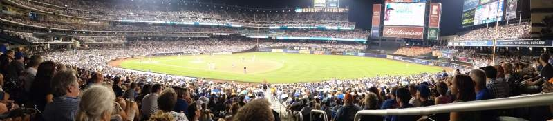 Seating view for Citi Field Section 111 Row 27 Seat 19