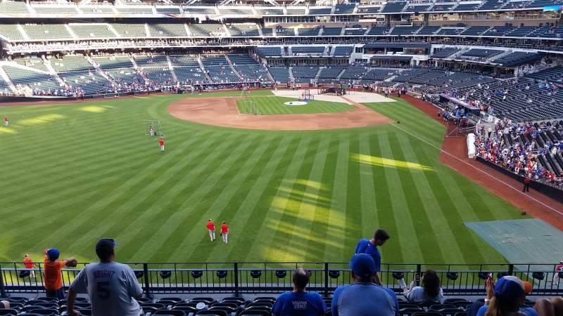 Seating view for Citi Field Section 335 Row 9 Seat 10