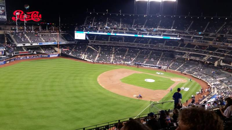 Seating view for Citi Field Section 528 Row 8 Seat 15