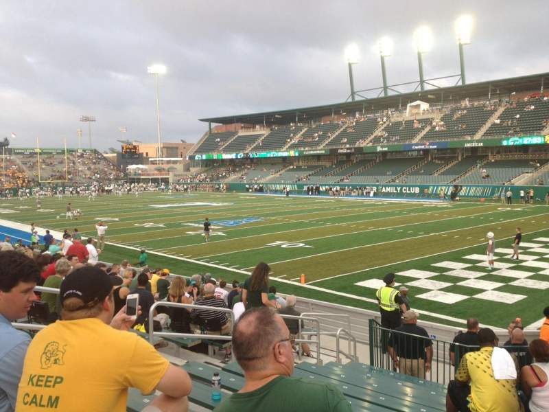 Seating view for Yulman Stadium Section 125 Row P Seat 14
