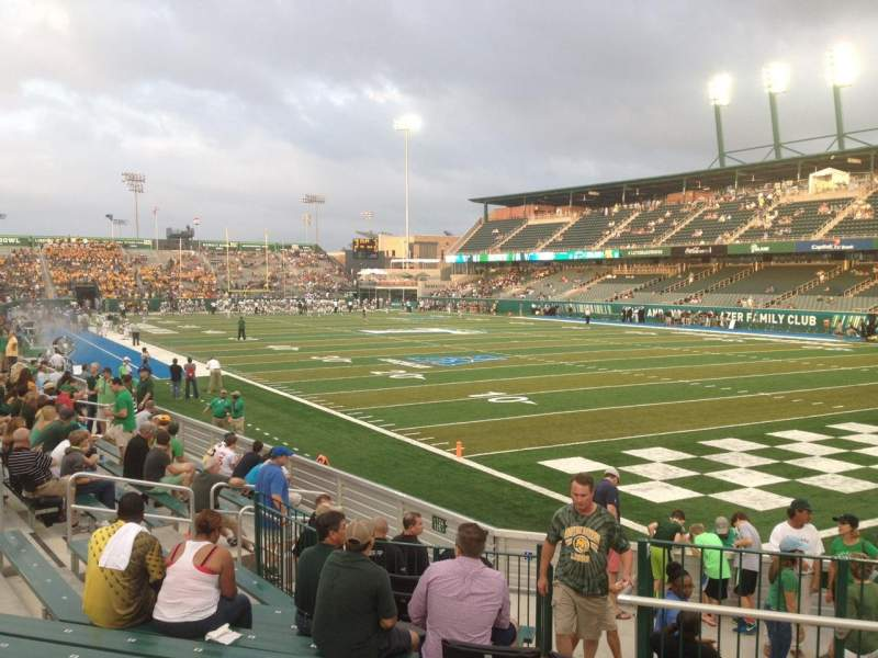 Seating view for Yulman Stadium Section 125 Row P Seat 2