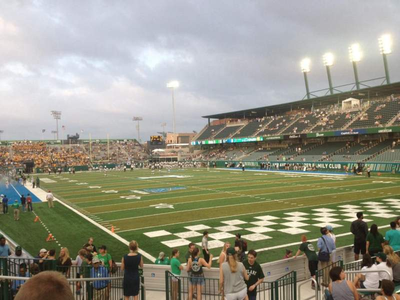 Seating view for Yulman Stadium Section 126 Row Q Seat 15