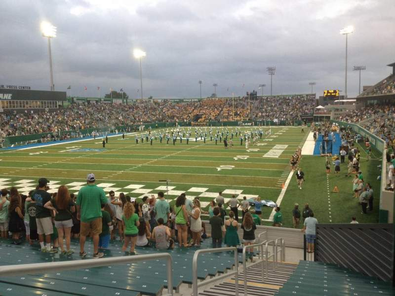 Seating view for Yulman Stadium Section 131 Row X Seat 3