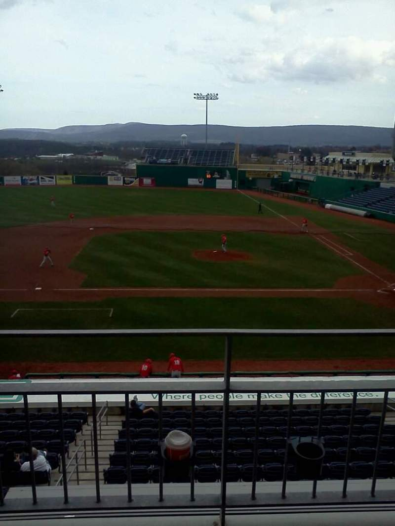 Seating view for Medlar Field at Lubrano Park Section Suite 504