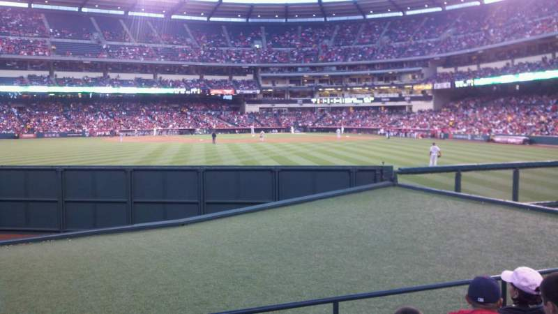 Seating view for Angel Stadium Section P257 Row E Seat 2