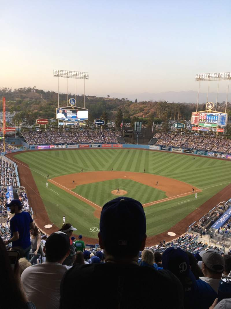 Seating view for Dodger Stadium Section 2RS Row T Seat 4