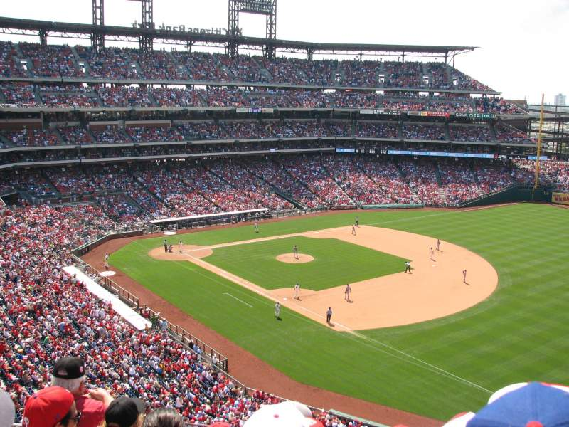 Seating view for Citizens Bank Park Section 310 Row 5 Seat 5