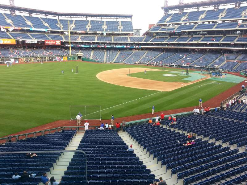 Seating view for Citizens Bank Park Section Suite 5
