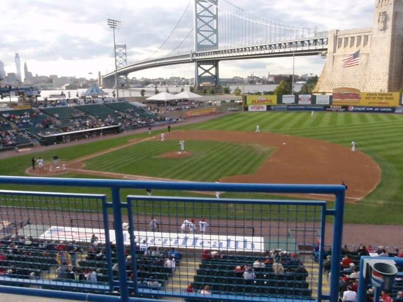 Seating view for Campbell's Field Section Bridge Suite
