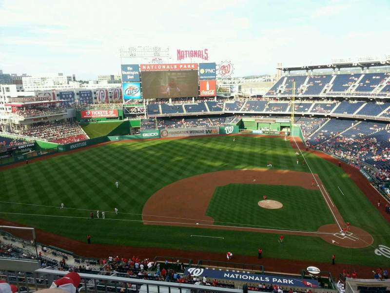 Seating view for Nationals Park Section 309 Row L Seat 14