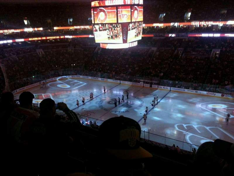 Seating view for Wells Fargo Center Section 203 Row 4 Seat 12