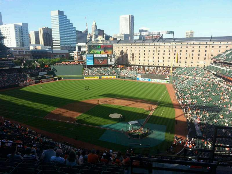 Seating view for Oriole Park at Camden Yards Section 344 Row 15 Seat 3