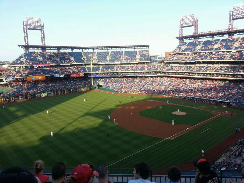 Seating view for Citizens Bank Park Section 331 Row 5 Seat 13
