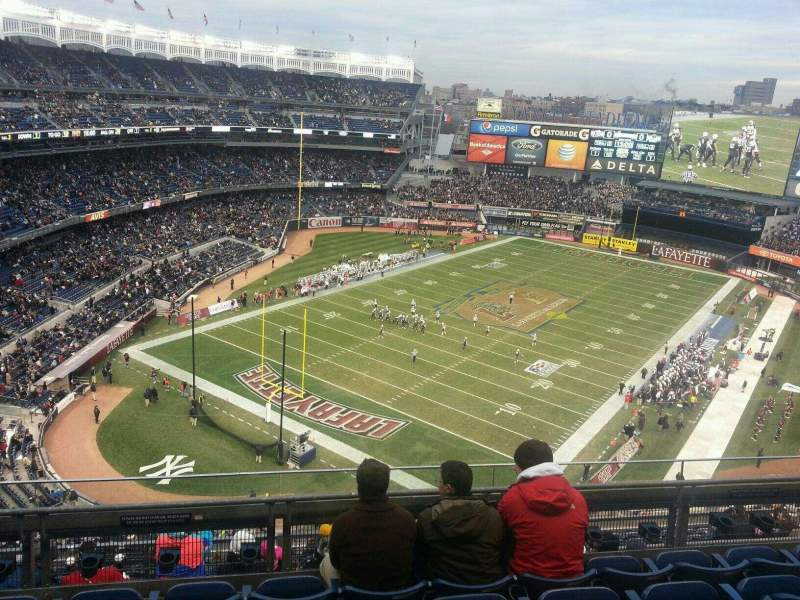 Seating view for Yankee Stadium Section 417 Row 5 Seat 8