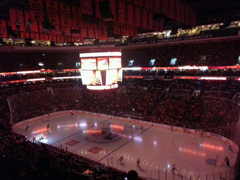Seating view for Wells Fargo Center Section 204 Row 5 Seat 7