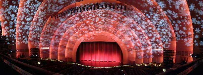 Seating view for Radio City Music Hall Section 2nd Mezzanine 3 Row A Seat 309