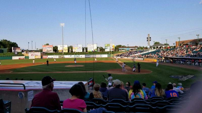 Seating view for FirstEnergy Park Section 110 Row 14 Seat 19
