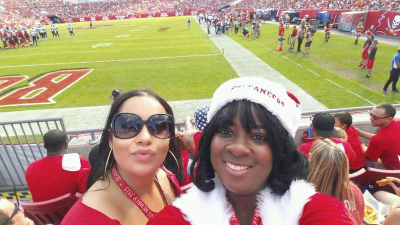 Seating view for Raymond James Stadium Section 150 Row C Seat 3 & 4