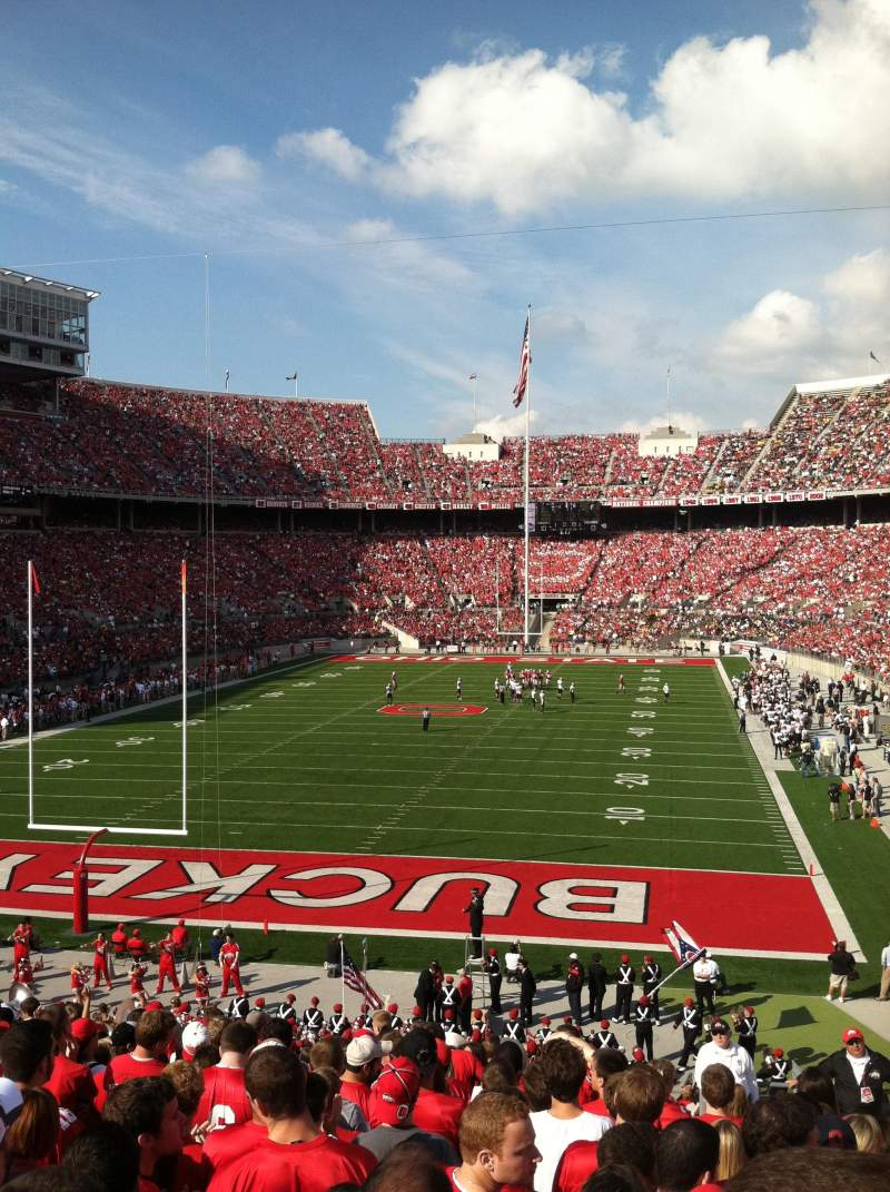 Seating view for Ohio Stadium Section 38A Row 20 Seat 2