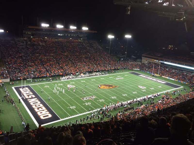 Seating view for Reser Stadium Section 225 Row 33 Seat 25