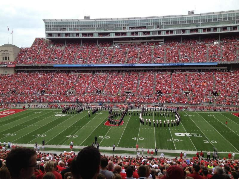 Seating view for Ohio Stadium Section 18B-BX Row 2 Seat 21