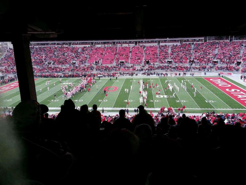 Seating view for Ohio Stadium Section 18B Row 11 Seat 15