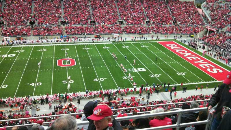 Seating view for Ohio Stadium Section 21C Row 10 Seat 5
