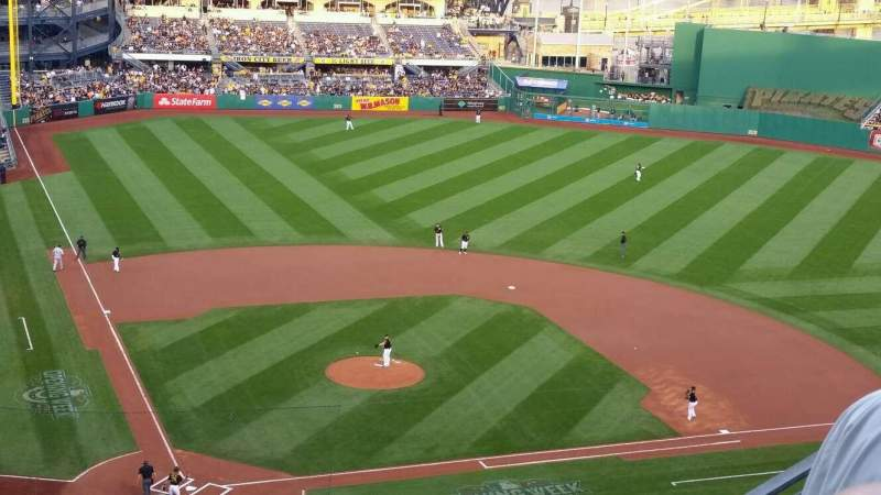 Seating view for PNC Park Section 313 Row J Seat 4