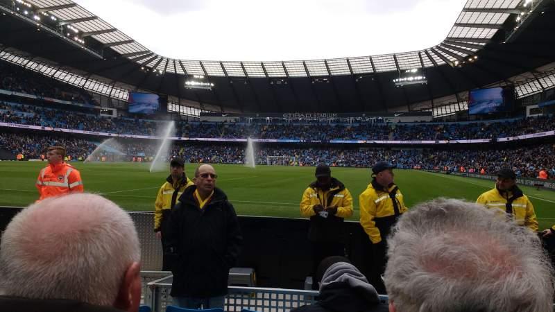 Etihad Stadium (Manchester), section: 113, row: C, seat: 337