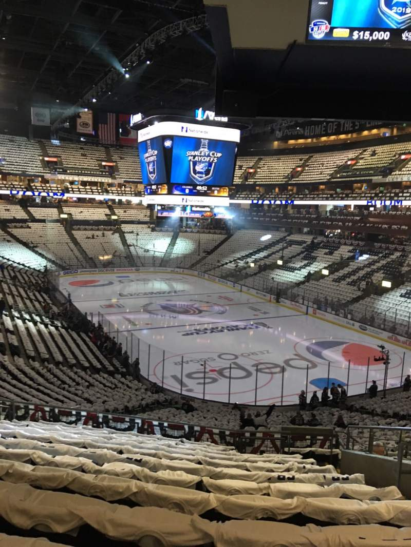 Seating view for Nationwide Arena Section 122 Row MM Seat 7