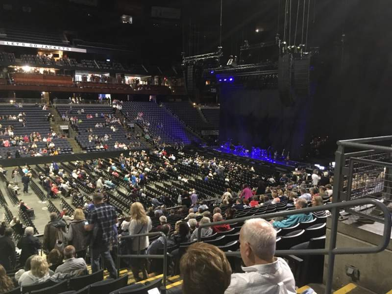 Seating view for Nationwide Arena Section 105 Row Y Seat 3