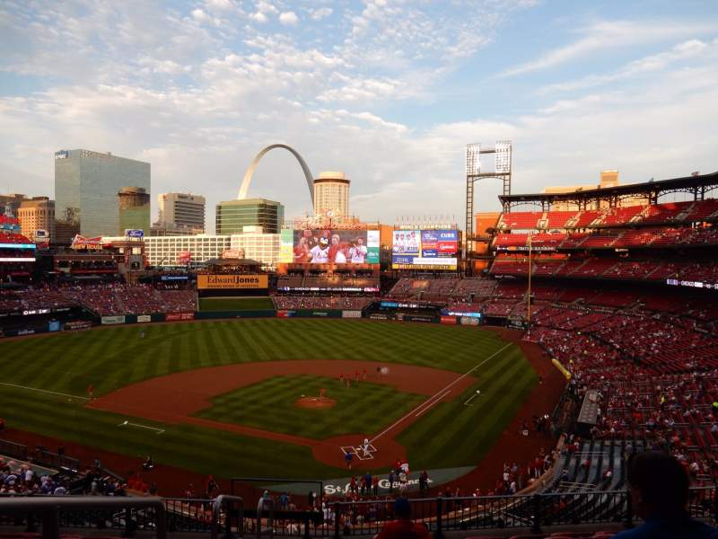 Seating view for Busch Stadium Section 251 Row 6 Seat 14