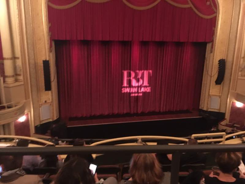 Seating view for Palace Theatre (Columbus) Section Mezzanine D Row AA Seat 121
