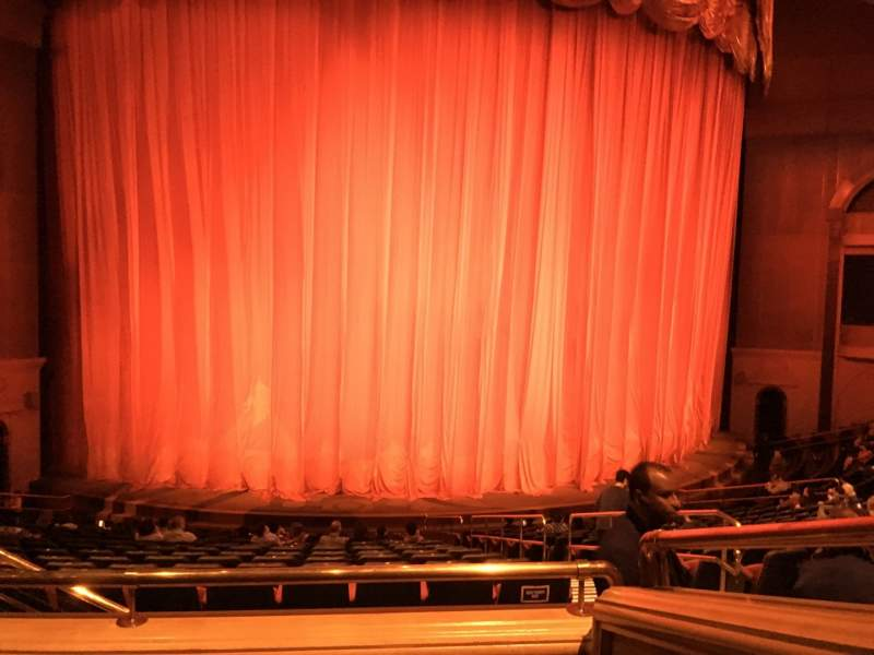 Seating view for O Theatre Section 202 Row P Seat 6