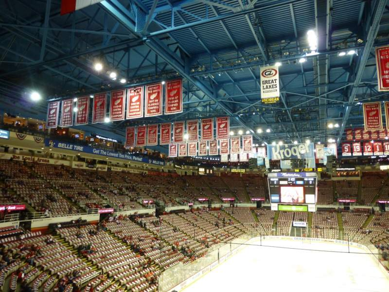 Seating view for Joe Louis Arena Section 228 Row 8 Seat 7