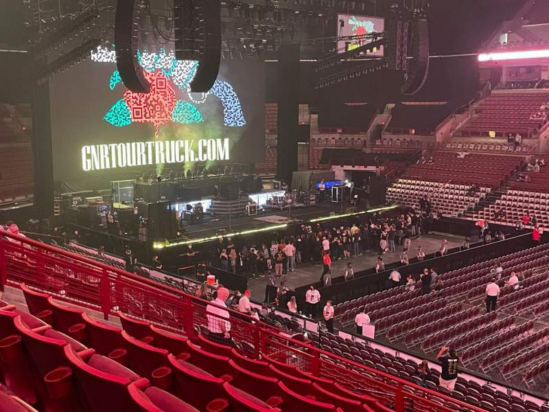 Seating view for Value City Arena Section 204 Row G Seat 6