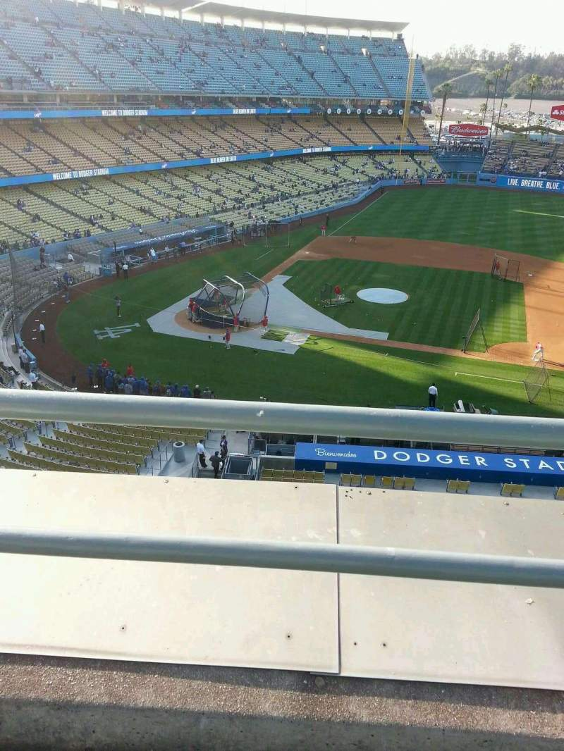 Seating view for Dodger Stadium Section 16RS Row b Seat 11