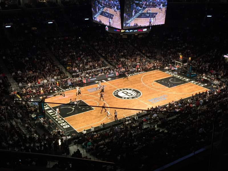 Seating view for Barclays Center Section 227 Row 5 Seat 4